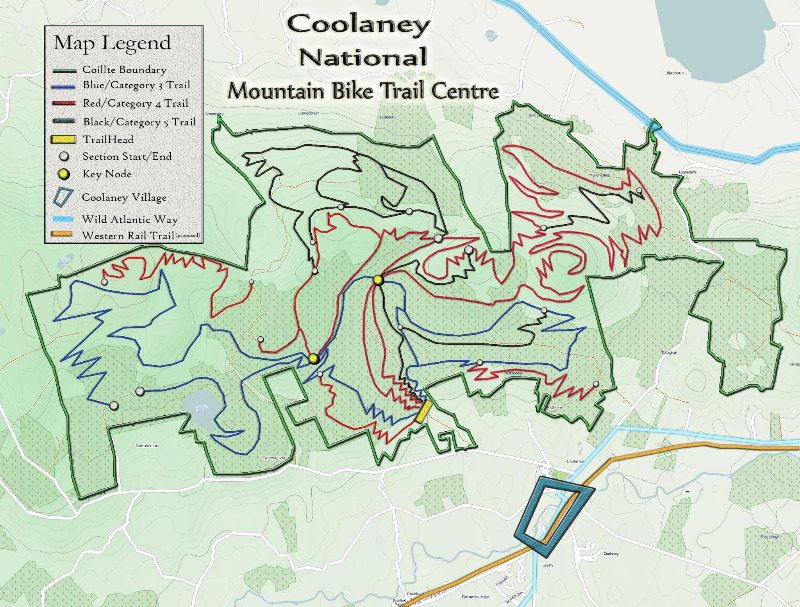 Coolaney Mountain Bike Trail Centre