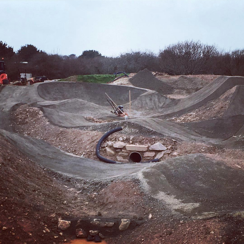 Mount Hawke Pump Track