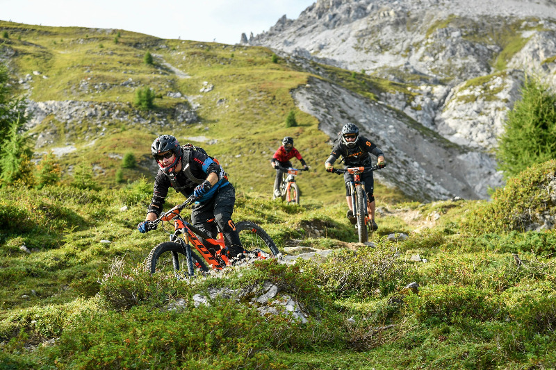 Davos Klosters Mountain Bike Trails