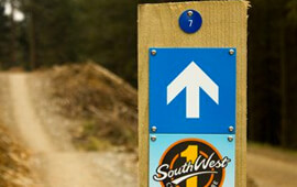 Mountain Bike Trail Grades