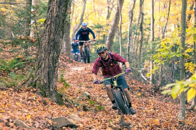 Adams Camp Mountain Biking Trails -