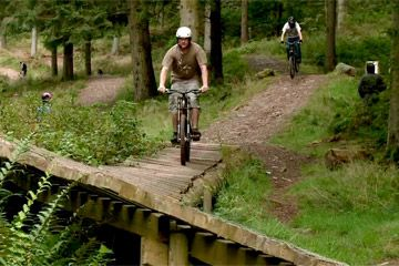 Ae Forest Mountain Bike Trail Centre