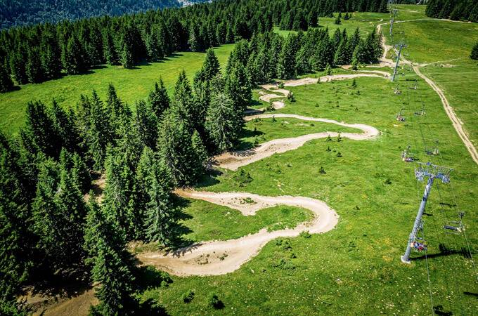 Avoriaz MTB Mountain Biking Trails - Rhone Alpes