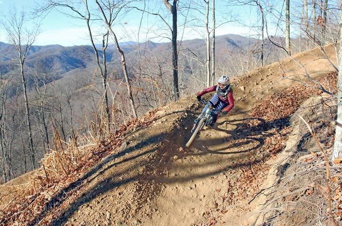 Bailey Mountain Bike Park - North Carolina