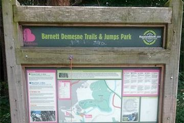 Barnett Demesne Mountain Bike Trails -