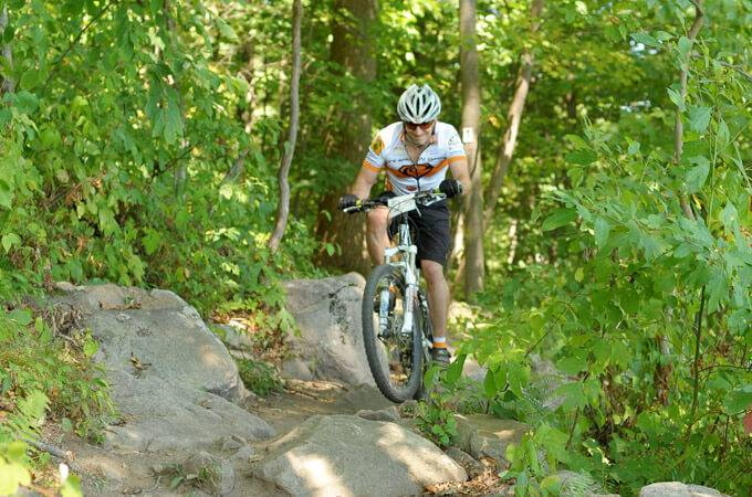 Bear Creek Mountain Bike Trails - Pennsylvania