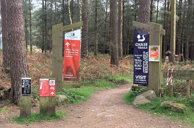 Cannock Chase Trail Centre -