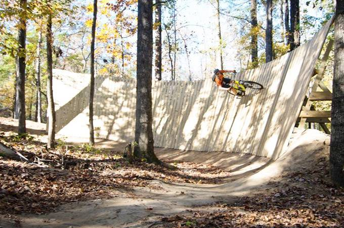 Chewacla State Park Mountain Bike Trails - Alabama