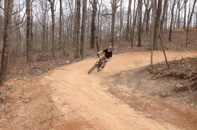 Coldwater Mountain Bike Trail - Alabama