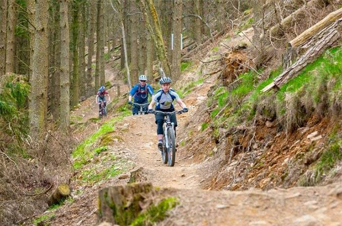 Cwmcarn Mountain Bike Trail Centre