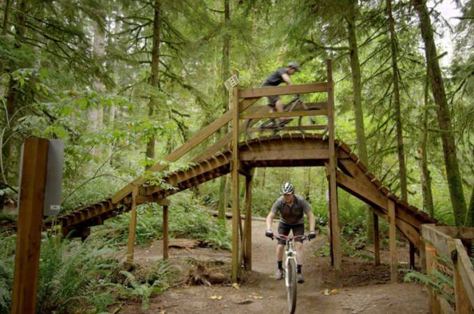 Duthie Hill Mountain Bike Park - Washington