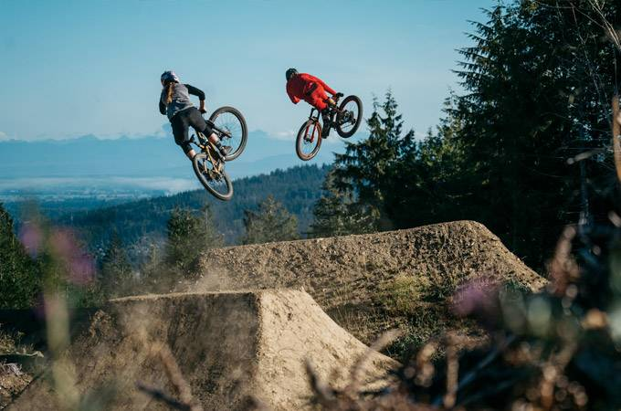 Galbraith Mountain Bike Trails - Washington