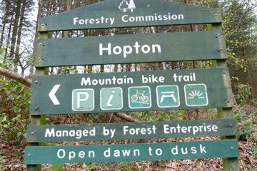 Hopton Woods Mountain Bike Trail Centre