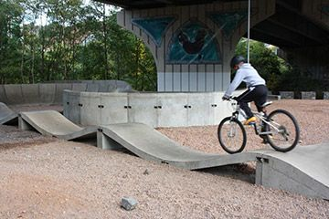 Newbridge Park Pumptrack - South Wales