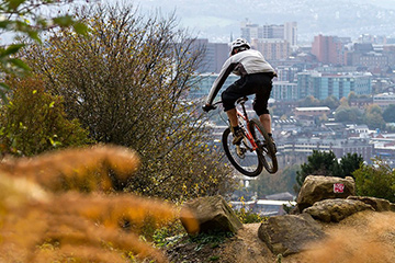 Parkwood Springs Mountain Bike Trails