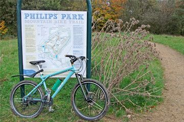 Philips Park Mountain Bike Trails