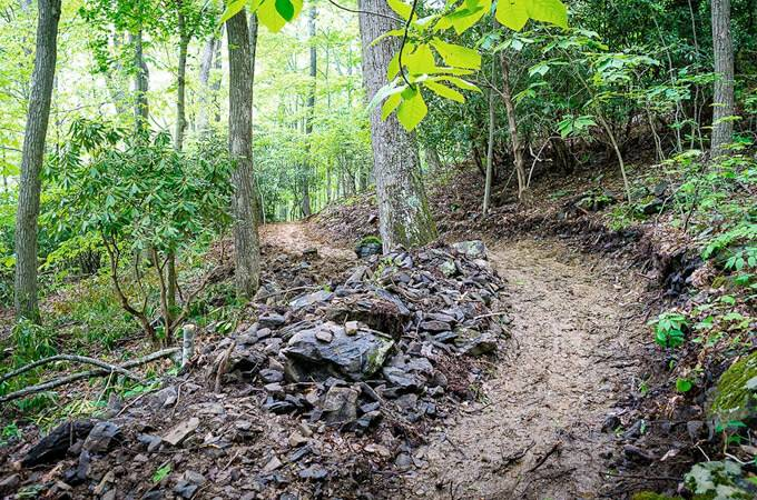 Rocky Knob Mountain Bike Park - North Carolina