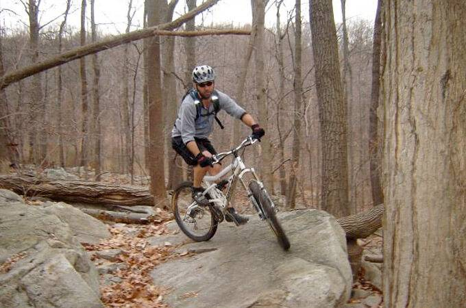 Walking Purchase Park Mountain Bike Trails - Pennsylvania